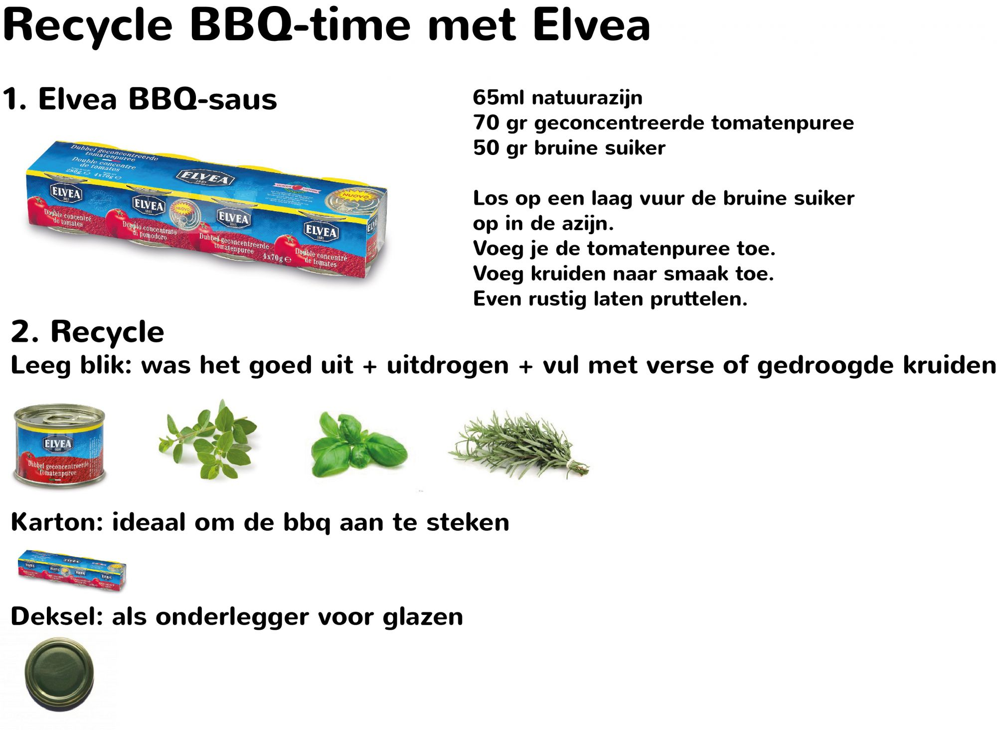 Recycle BBQ time with Elvea